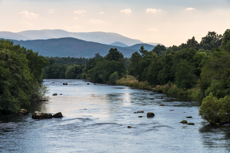 garten: The Spey River near Boat of Garten