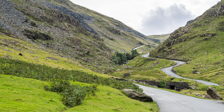 lakeland: Honister Pass in the Lake District