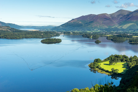 lake district england: View from Surprise View near Derwentwater