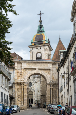 religious clothing: Cathedral of St Jean in Besancon France