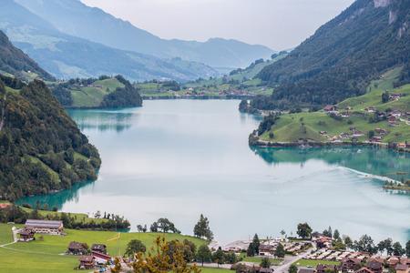 oberland: View near Brienz in the Bernese Oberland region of Switzerland