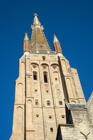 flanders: Church of Our Lady in Bruges West Flanders Belgium