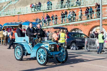 Car just finished London to Brighton Veteran Car Run
