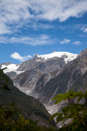 franz: View of the Franz Joseph Glacier