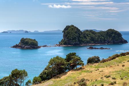 coastline: Coromandel Coastline Stock Photo