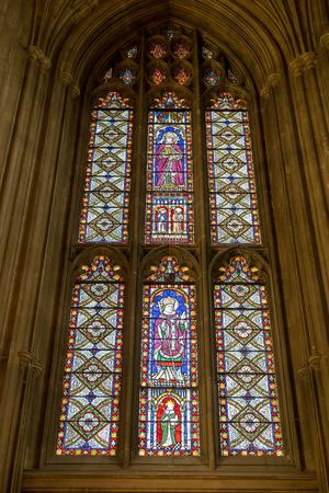 canterbury: Interior View of Canterbury Cathedral Editorial