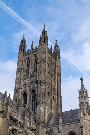 canterbury: View of Canterbury Cathedral
