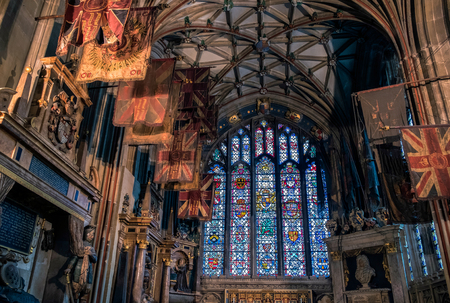 canterbury: The Buffs Chapel in Canterbury Cathedral Editorial