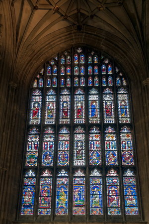 canterbury: Interior view of Canterbury Cathedral