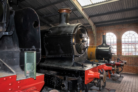 sheffield: Old steam trains at Sheffield Park Station