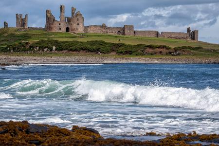 outpost: View of Dunstanburgh Castle