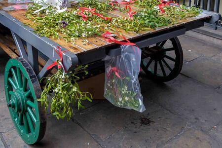 covent: Mistletoe for Sale at Covent Garden