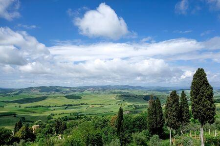 val dorcia: Countryside of Val dOrcia Tuscany
