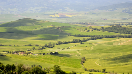 val: Countryside of Val dOrcia near Pienza