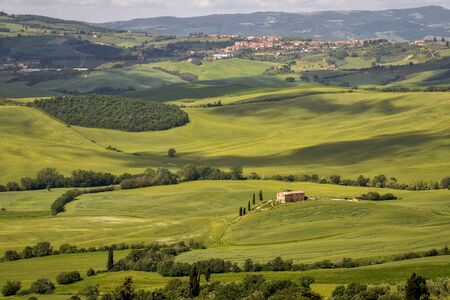 val d'orcia: Countryside of Val dOrcia