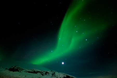 geomagnetic: Northern Lights Southern Iceland