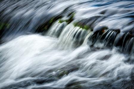 watersmeet: Fast Flowing East Lyn River