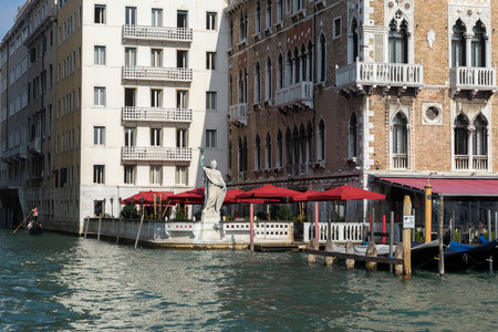 parasols: Red Parasols in Venice