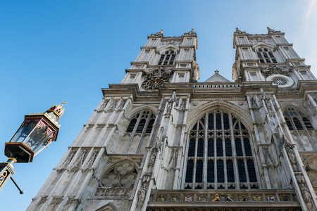 british weather: View of Westminster Abbey