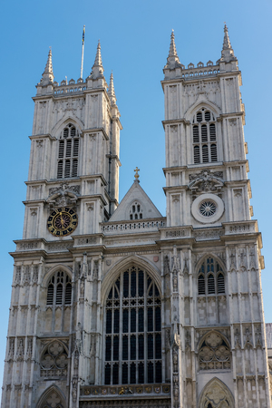 westminster: Exterior of Westminster Abbey