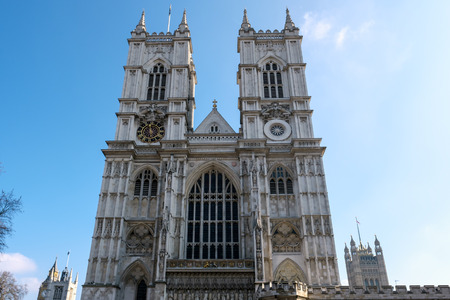 the abbey: View of Westminster Abbey