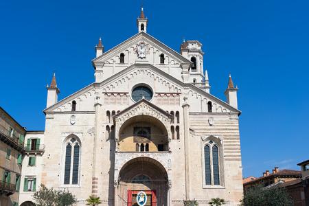 verona: View of Verona Cathedral