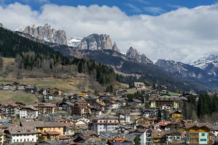 sud tirol: View of Moena Trentino Italy