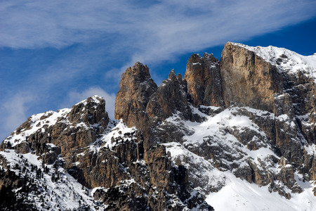 sud tirol: Mountains in the Valley di Fassa