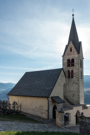 dedicated: Church dedicated to St Michael in Villanders