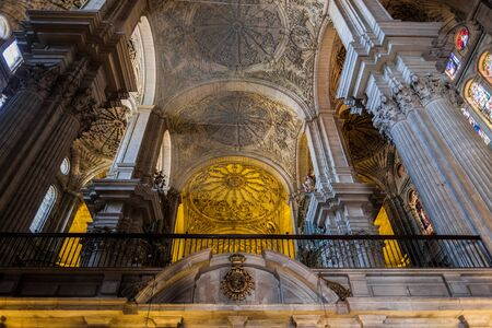 incarnation: Interior View of the Cathedral of the Incarnation in Malaga