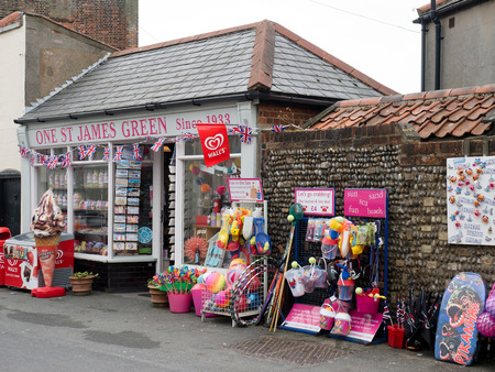 southwold: Shop Selling Beach Goods in Southwold