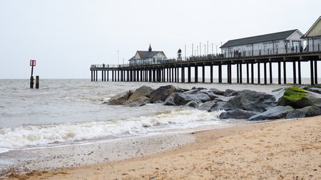 southwold: View of Southwold Pier in Suffolk