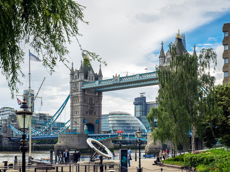 sun dial: Sun Dial near Tower Bridge in London Editorial