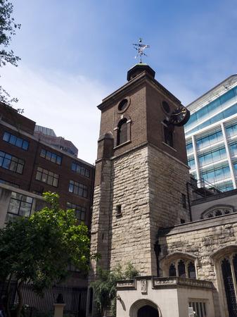 seething: St Olaves Church in Seething Lane London