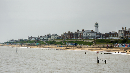southwold: View of the Coastline at Southwold