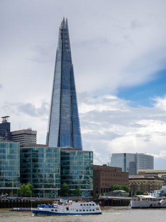 shard: View of the Shard Building in London