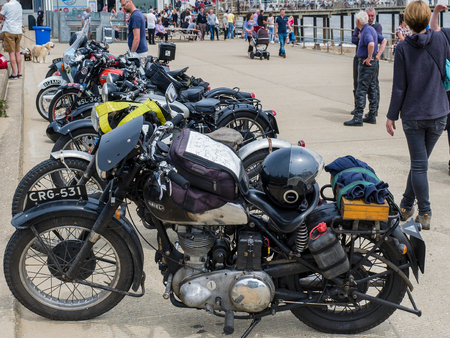 southwold: Vintage Motorcycles on Display in Southwold Editorial