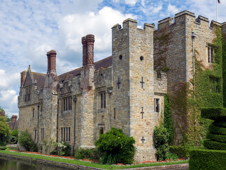 kent: View of Hever Castle in Hever Kent Editorial