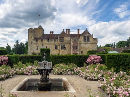 View of Hever Castle from the Garden