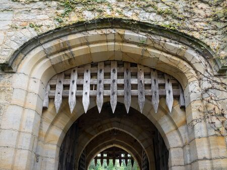 portcullis: The Portcullis at Hever Castle Editorial