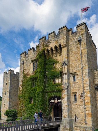 View of Hever Castle in Hever Kent Editorial