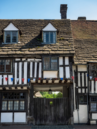 tudor: Old Tudor Buildings in East Grinstead