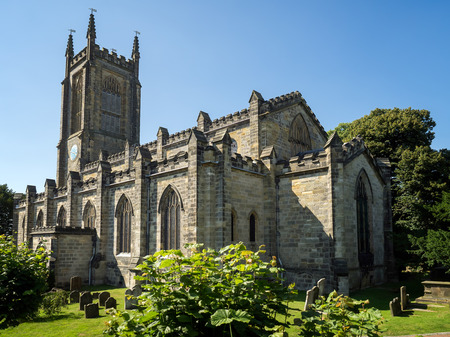 winchester: View of St Swithuns Church in East Grinstead Stock Photo