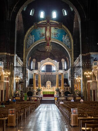 Interior view of Westminster Cathedral