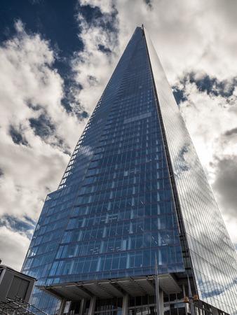 shard: The Shard Dominating the London Skyline Editorial