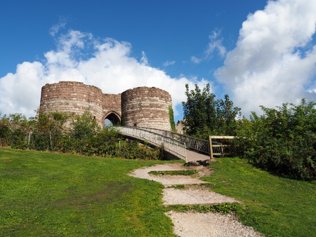 Ancient Ruins at Beeston Castle