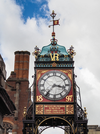 chester: Victorian City Clock in Chester