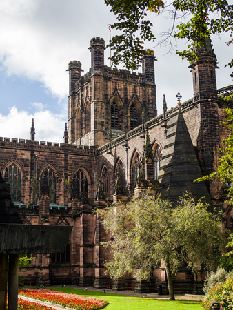 chester: Cathedral Gardens in Chester
