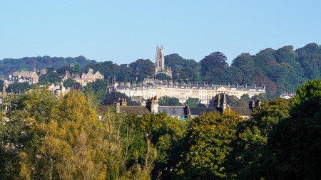 english west country: View of St Stephens Church in Bath