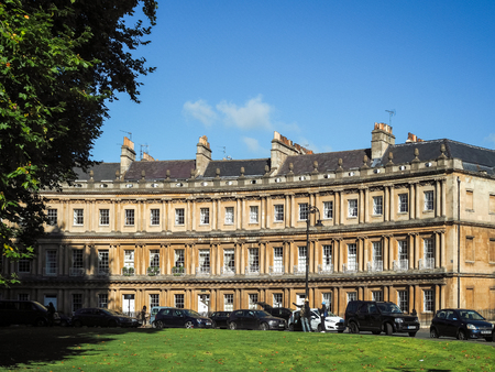 townhouses: Houses in the Circus in Bath